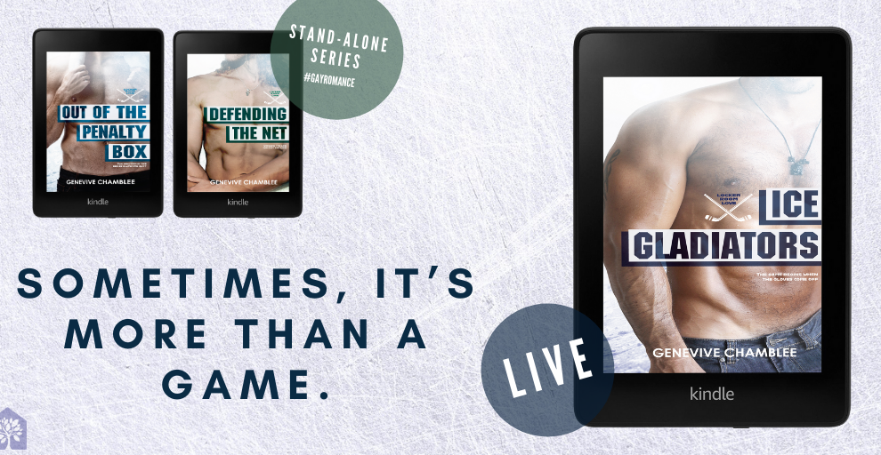 Guest Post:  An Interview with Genevive Chamblee on her new release, ICE GLADIATORS