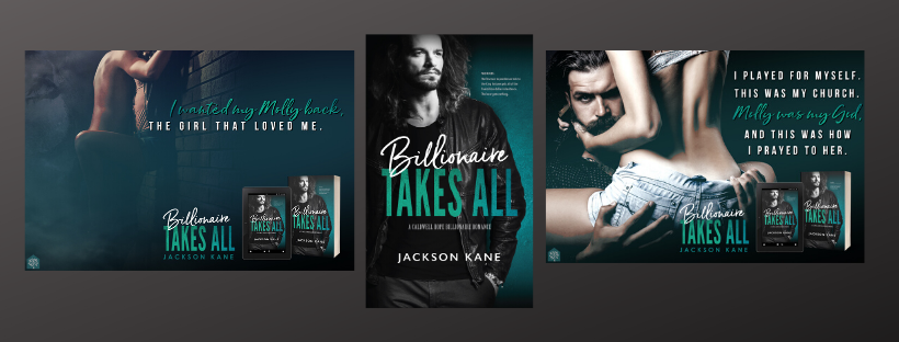 Guest Post: Jackson Kane & on his latest release, Billionaire Takes All