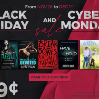 Black Friday-CyberMonday SALE – selected titles 99 cents!